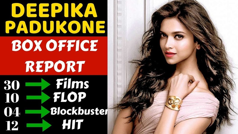 Deepika Padukone Box Office Collection Analysis Hit, Flop and Blockbuster all Movies List