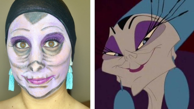 *AFFORDABLE* Halloween Makeup Tutorial | Yzma Emperor's New Grove