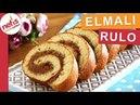 Sünger gibi keki ile ELMALI RULO Kolayca Sarılır 👍