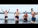Ренарс Кауперс купался в Даугаве с журналистами