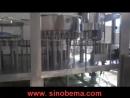 11000-13000 bottles per hour, Bottle washing filling capping machine.