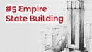 Empire State Building perspective drawing 5 famous architecture