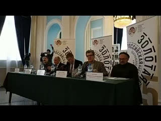 Пресс-конференция: фестиваль Золотая Маска в Омске
