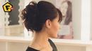 Прическа из ТРЕХ ХВОСТОВ на себе ✓ на волосы средней длины
