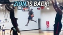 Zion Williamson Has Been IN THE LAB! Shows Off New Jumper Dope Bounce In Pickup Game 🔥