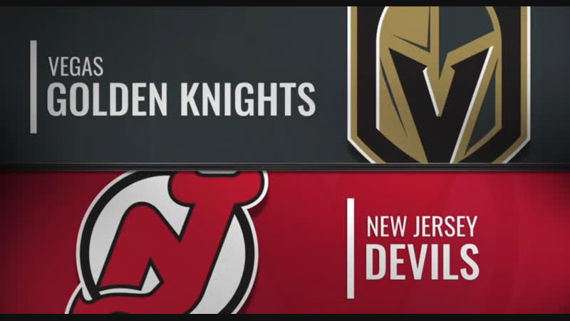NHL Regular Season 2018-19 Vegas Golden Knights-New Jersey Devils