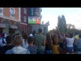 Реакция фанзоны на выход России в 1/4 Чемпионата мира