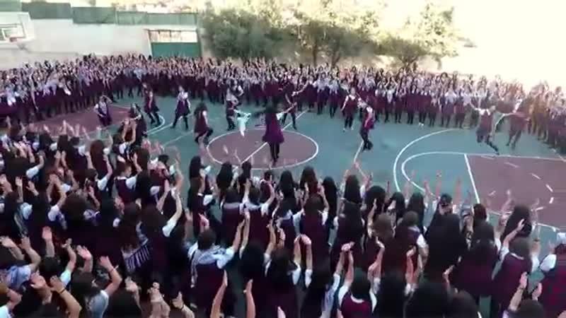 دبكة مدرسة راهبات الوردية القدس 360P mp4