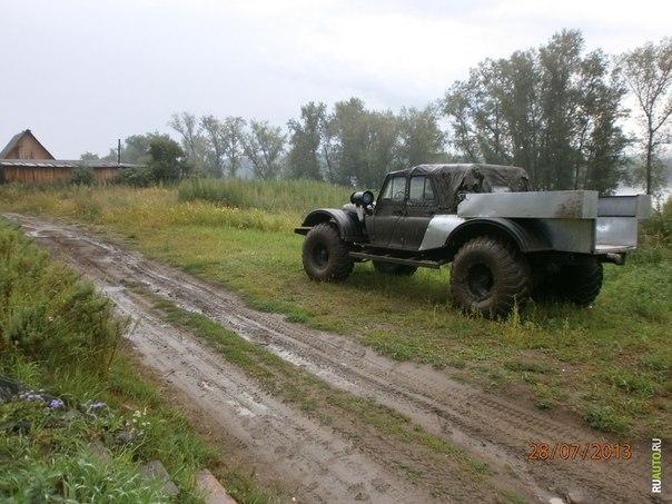 Переделка и переоборудование на дизель самосвала ГАЗ-53.