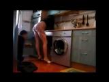 Секс муж трахнут жену в ванной  эротика порно