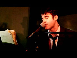 Darren Criss (Glee)- Teenage Dream at the Office Weho