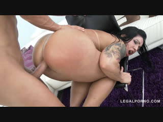 [legal ass]big butt latina slut monica santiago assfucked in big ass anal double penetration