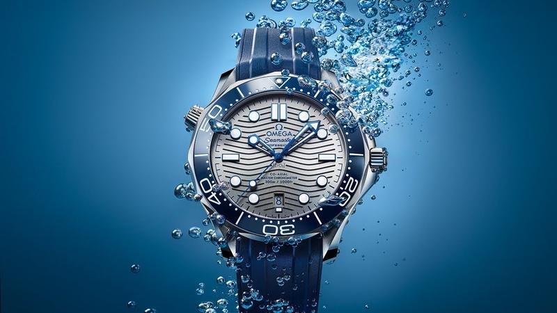 OMEGA Seamaster Diver 300M Depth-defying beauty.