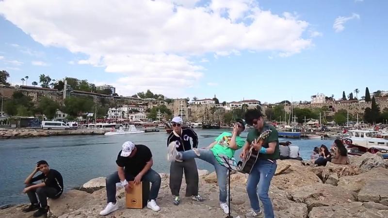 [6 день в Турции] Порт Марина - Kaleici Marina, Анталия, Турция COVER Ли Хон Ки , Юн ДонХён и Ха ХёнУ