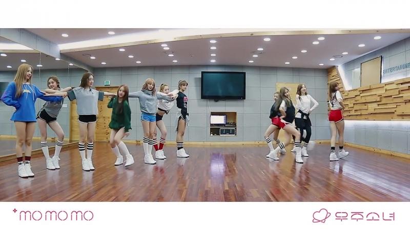 [Dance Practice] WJSN - MoMoMo