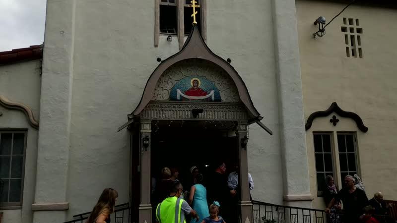 Престольный праздник в храме Покрова Пресвятой Богородицы в Лос Анджелесе