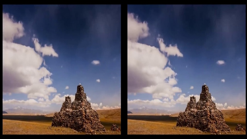 VR Heavenly Landscapes - High Quality 4K POV (3D SBS VR BOX)