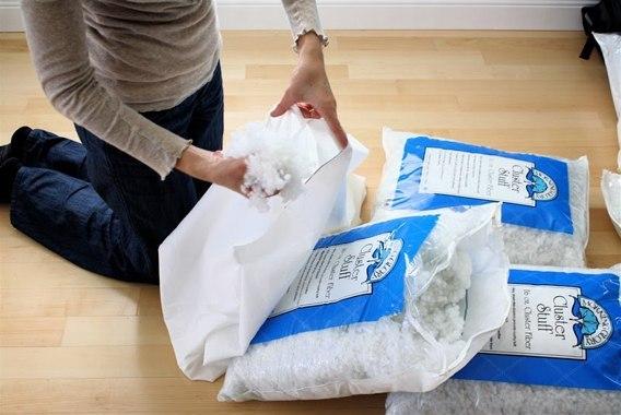 Чем набить кресло мешок в домашних условиях