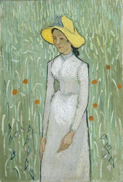 « одного шедевра». «Девушка в белом», Винсент Ван Гог