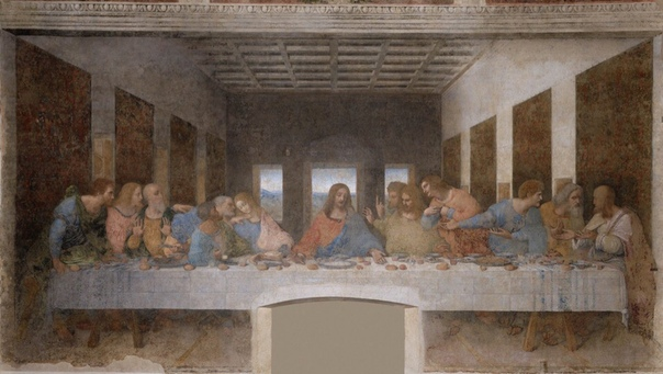 "Легенда про фреску ""Тайная вечеря"""