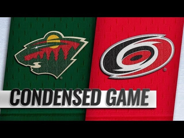 Minnesota Wild vs Carolina Hurricanes Mar 23 2019 Game Highlights NHL 2018 19 Обзор матча