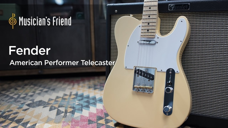 Fender American Performer Telecaster Electric Guitar - Demo, Features and Specifications