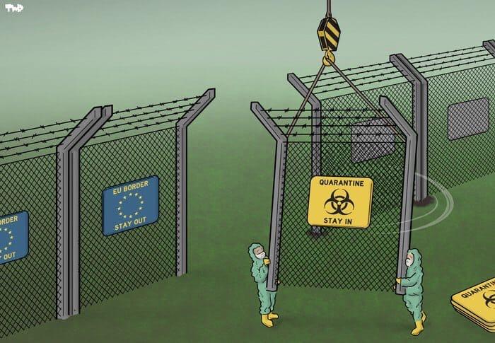 Евросоюз определил список стран, с которыми откроет границы с 1 июля. В него вошли 14 стран: Австралия, Алжир, Грузия, Канада, Марокко, Новая Зеландия, Руанда, Сербия, Таиланд, Тунис, Уругвай, Черногория, Южная Корея, Япония.