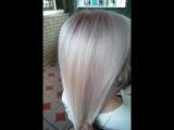 Экспресс тонирование волос.