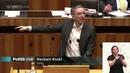 Herbert Kickl - Mindestpensionen, Pflegegeld - 23.4.2015