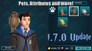 Harry Potter Hogwarts Mystery 1 7 0 Update Pets Clothes Attribute Points and more