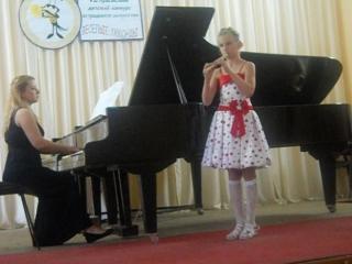 чардаш - Ярослава, блок-флейта ,2014 г.
