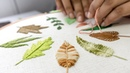 HAND EMBROIDERY FOR BEGINNERS: 10 Types of Leaves