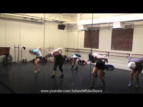 Skyfall by Adele: Joffrey Ballet School Jazz Class Choreography - Ashani Mfuko's Class