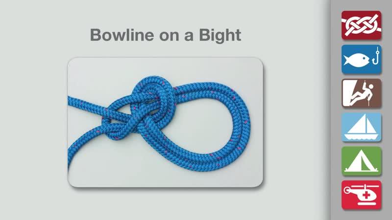 Bowline on a Bight _ How to Tie a Bowline on a Bight