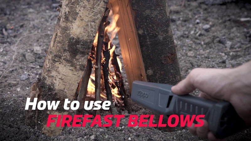 Zippo FireFast Bellows: How-To