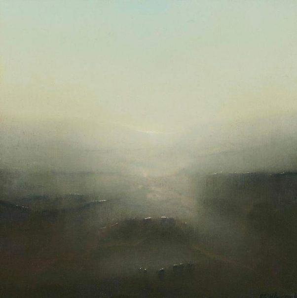 Ричард Уодкок, английский художник, пришёл в живопись из литографии.