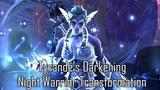 Tyrande's Darkening - Night Warrior Transformation