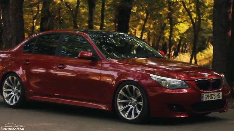 BMW E60 M5 550i V10 507 PS Song Movie for fans BMW