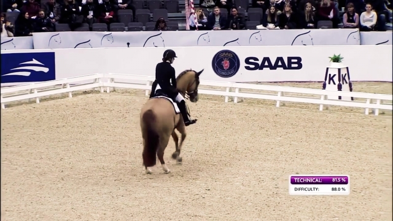 Superb score of 88,2 for Cathrine Dufour in Gothenburg - FEI World Cup™ Dressage