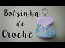 Chaveiro Bolsinha de Crochê