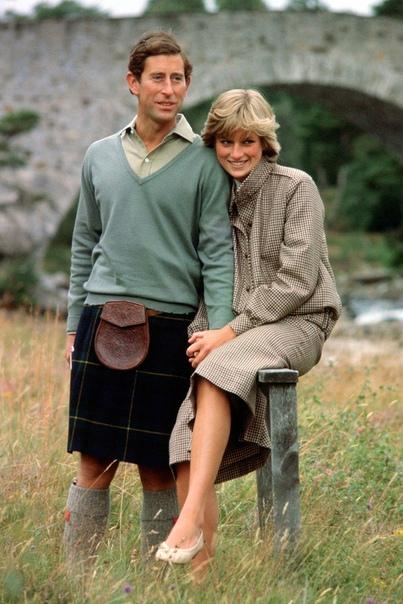 Фотосессия в Шотландии Принца Чарльза и Принцессы Дианы.