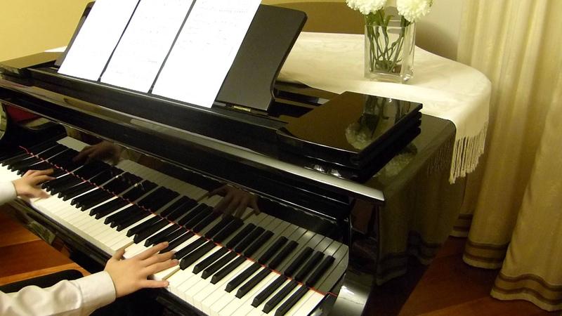 Piano Fate Stay Night ED1 Anata ga Ita Mori impov ending 100 subscriber special