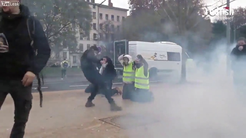 Saturday France, Protest Lyon
