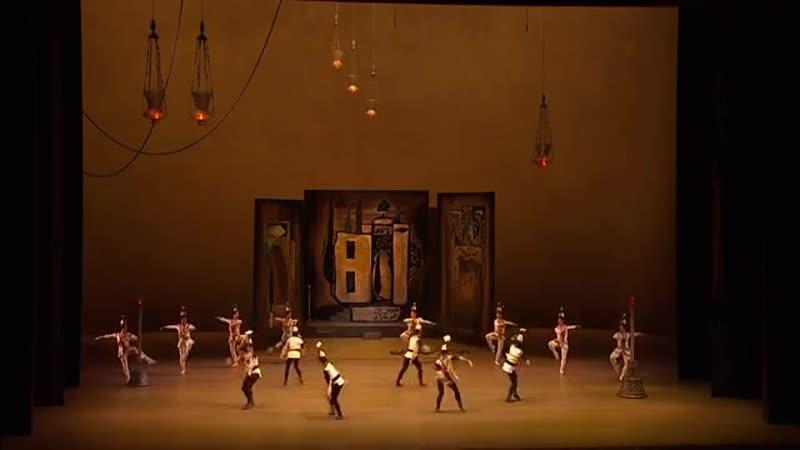 The Legend of Love (Act 1) - ballet (Bolshoi Ballet, Maria Allash, Denis Rodkin)