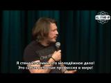 Richard Herring: Oh Fuck, I'm 40! / Ричард Херринг: Ебать, мне 40! (2007) [AllStandUp | Субтитры]