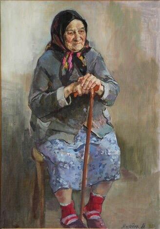 Валентина Осеева - Бабка. Бабка была тучная, широкая, с мягким, певучим голосом. В старой вязаной кофте, с подоткнутой за пояс юбкой расхаживала она по комнатам, неожиданно появляясь перед