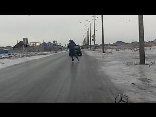 = Костанай гололед на коньках на работу =