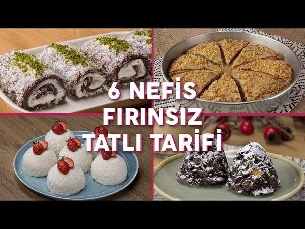 Fırın Olmadan Yapabileceğiniz 6 Nefis Tatlı Tarifi (Seç Beğen!) | Yemek.com