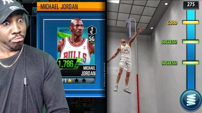 NBA 2K MOBILE GAMEPLAY! 1ST LEAGUE GAME, MICHAEL JORDAN CARD, VERTICAL JUMP DRILL MORE! Ep. 3