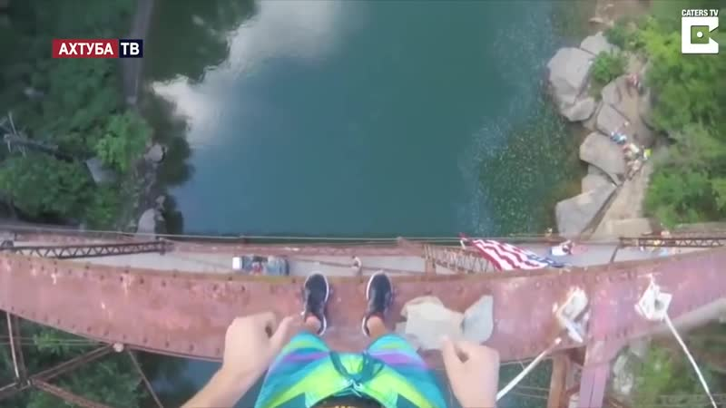 От первого лица׃ прыжок в воду с высоты 30 метров